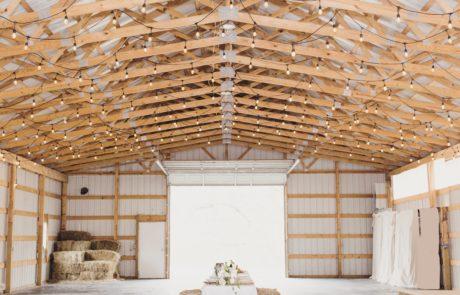 3200 Sq Ft Inside Barn